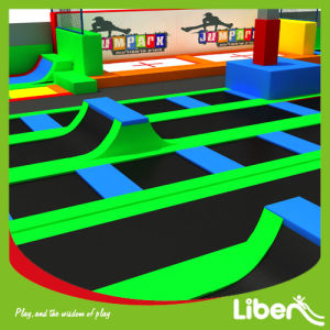 Indoor Colorful High Jump Sport Trampoline Park Manufacturer pictures & photos
