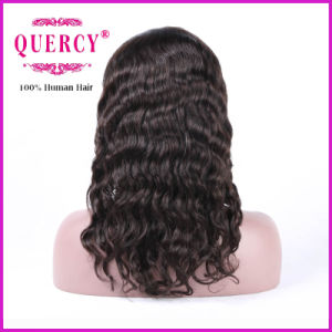 Brazilian Unprocessed Remy Body Wave Virgin Human Hair Lace Front Wig pictures & photos