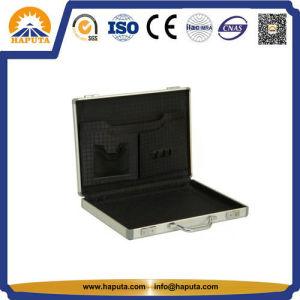 Portable Aluminum Case Business Suitcase Specialized Storage Box (HEC-0005) pictures & photos