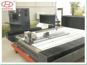 Low Cost Jcs1325r 3D CNC Column Stone Carving Machine Price pictures & photos