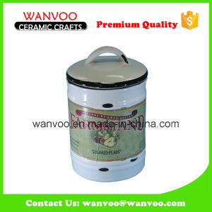 Wholesale Novelty Design Ceramic Herb Storage Jar pictures & photos