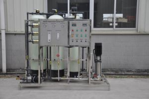 Reverse Osmosis Drinking Water Treatment Plant Line pictures & photos
