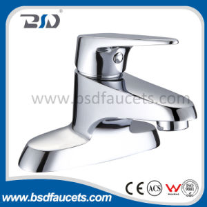 Single Hole Deck Mounted Lavatory Brass Basin Faucet pictures & photos