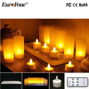 Rechargeable Candle Light with Remote Control pictures & photos