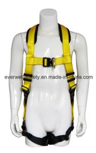 Full Body Harness, Safety Harness, Seat Belt, Safety Belt, Webbing with Two-Point Fixed Mode and EVA Protection Pad (EW0300H) pictures & photos
