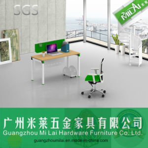 High Quality Partition Workstation Office Furniture with Steel Frame Table Leg pictures & photos