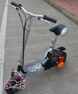 43cc Ce Approved Foldable Gas Scooter (et-GS090) pictures & photos