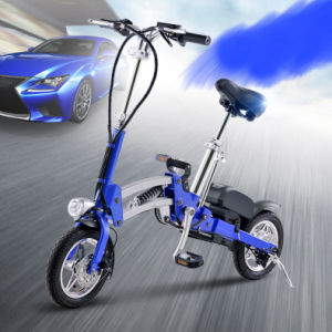 Foldable Electric Vehicle/ Electric Folding bicycle for Transportation pictures & photos