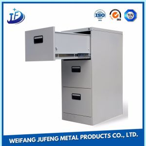 Large Vintage Metal File/Filing Cabinets Stamping Parts with Work Fabrication Service pictures & photos