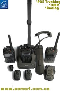 Low VHF/VHF/UHF Tactical Digital Radio, with GPS/AES-256 Encryption Digital Function