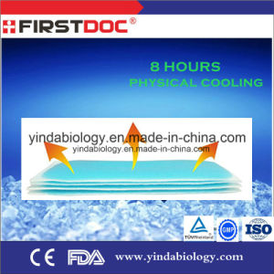 Medical Supply OEM High Quality Baby Menthol Cooling Gel Patch 5X12cm Compression Molding