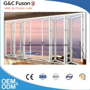High Quality with Factory Aluminum Glass Folding Door pictures & photos