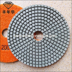 Wd-1-125 Wet Stone Abrasive Polishing Pad (5 inch) pictures & photos