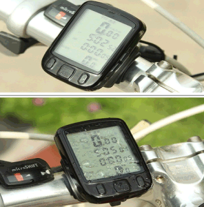 Waterproof Bike Odometer Bike Computer Velocimetro Stopwatch Bicycle Luminous Speedometer pictures & photos