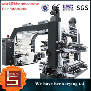 Automatic Fabric Plastic Printing Machine pictures & photos
