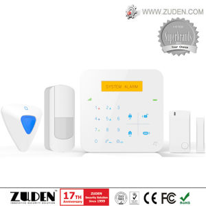 GSM Wireless Network + WiFi Home Alarm with IP Camera Function pictures & photos