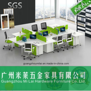 Hot Sale Modern Style Office Furniture with Stainless Steel Table Leg pictures & photos