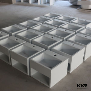 Resin Stone Wash Basin, Square Small Sizes Hand Wash Basin pictures & photos