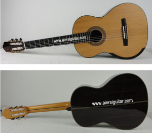 Aiersi Classical Smallman Guitar with Round Back Sc098s pictures & photos