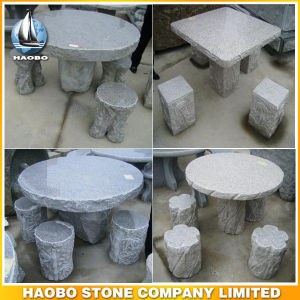 Stone Garden Decoration Table and Bench for Sale pictures & photos