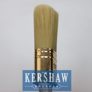 Paint Brush (Oval Brush tapered filament With Beech Wood Handle, paintbrush) pictures & photos