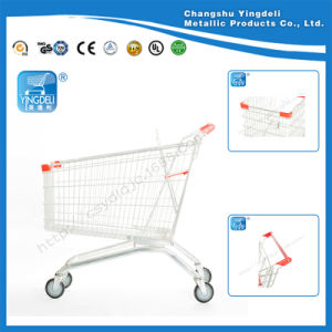 Europe Type Carts\Shopping Trolley for Supermarket Shopping Mall with High Quality on Hot Sale