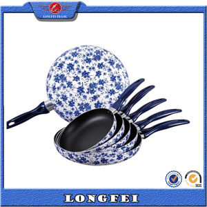 China Style Color Brilliancy Stock Fry Pan pictures & photos
