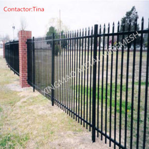 Anti-Climb High Security Fence/Ornamental Iron Fence (XM3-23) pictures & photos