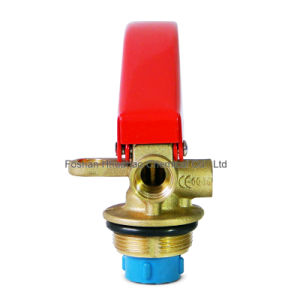 Valve for ABC Dry Powder Fire Extinguisher