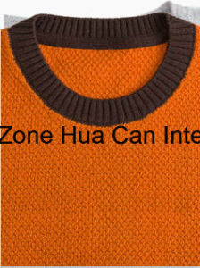 Men′s Round Neck Color Combined 100% Top Grade Pure Cashmere Sweater pictures & photos