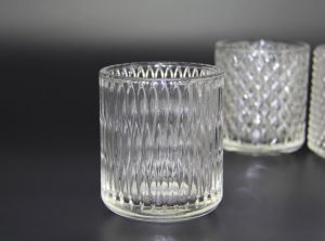 Hot Sell Transparent Tea Light Glass Jar for Candles pictures & photos