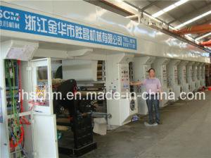 Ce Standard Plastic Film Rotogravure Printing Machine pictures & photos