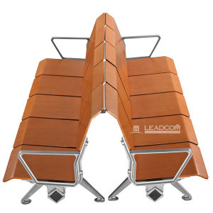 Ls-529m Leadcom Bus Station/Hospital Wood Waiting Chairs pictures & photos