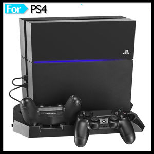 Controller Quad Charging Station with 4 USB Hub Ports for Sony PS4 Playstation 4 Game Console pictures & photos