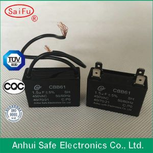 50Hz Single Phase Cbb61 Capacitor pictures & photos