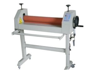 Electric and Manual Cold Laminator Machine Laminating Machine Wd-At650 pictures & photos