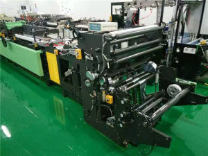 Hot Sale Autoamtic Middle Sealing Second Hand Bag Making Machine pictures & photos