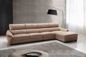 Good Quality Modern Living Room Leather Sofa Set (HC2055) pictures & photos