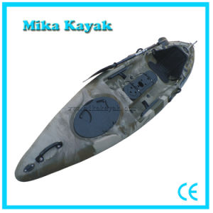 Professional Pedal Kayak Fishing Boats Plastic Canoe pictures & photos