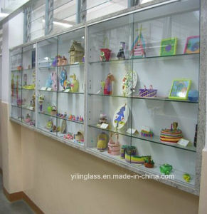 High Quality Tempered Glass Store Shelves pictures & photos