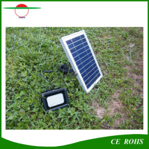 5W Solar Flood Light Waterproof IP65 Outdoor Solar Floodlight 54LED High Brightness Garden Light pictures & photos