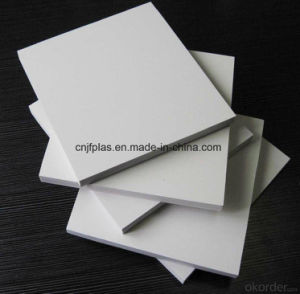 High Density White Waterproof PVC Foam Board for Bathroom Cabinet pictures & photos