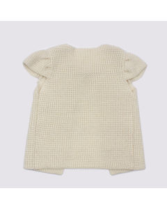 Phoebee Wholesale Knitted Short Sleeve Girl Sweater pictures & photos
