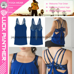 Wholesale Custom Design Printing Women Tank Top Double Layer pictures & photos