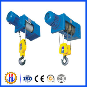 Vertical Hoist Bed Wire Rope Hoist/PA100 220/230V 400W 50/100kg 10-5m/Min pictures & photos