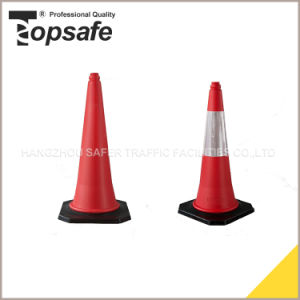 75cm Rubber Bade PE Traffic Cone pictures & photos