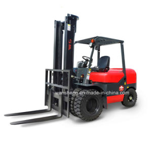 4.5 Ton Diesel Forklift Truck with Japanese Mitsubishi S6s Engine pictures & photos