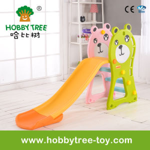 2017 Bear Style Hot Selling Indoor Kids Slide with Ce (HBS17021E)