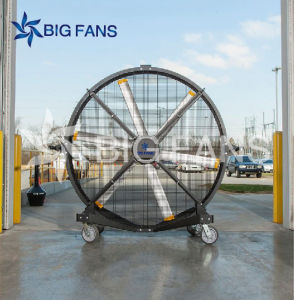 Big Size Mobile Industrial Fan High Quality Low Power Portable DC Stand Fan Prices pictures & photos