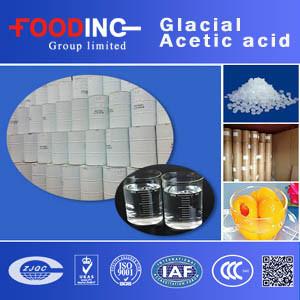High Quality Transparent Liquid Glacial Acetic Acid 99% for Food Manufacturer pictures & photos